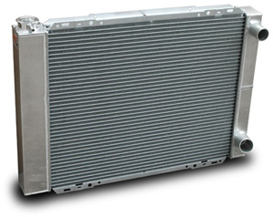 Double Pass Aluminum Racing Radiators