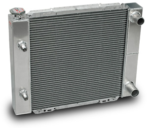 Aluminum Double Pass Radiators w/ Oil Cooler