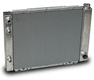 Aluminum Racing Radiators w/ Oil Cooler